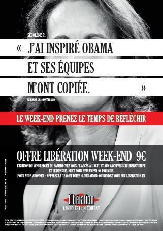 Kesako: Segolène a inspiré Obama