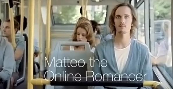 Pub Orange (Suisse) : Matteo, romancier online