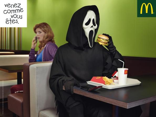 Pub scream et Mc Donald's