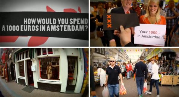 Que feriez-vous avec 1000€ à Amsterdam ?
