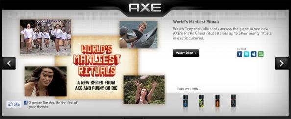 Axe : funny or die