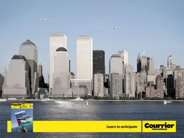 Courrier International / Apprenez à anticiper : World Trade Center