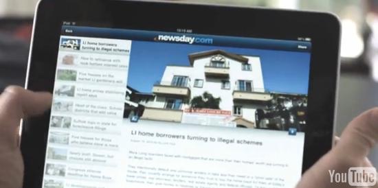 Pub Newsday : le spot qui fait mouche