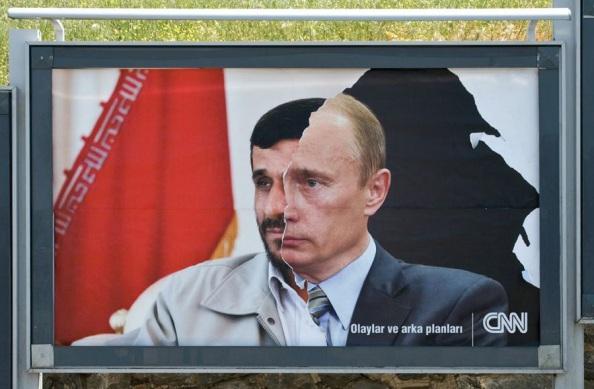 CNN : Poutine serait il lié à Ahmadinejad ?