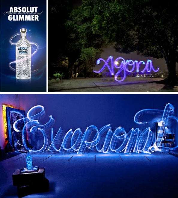 Light Painting by Absolut Glimmer