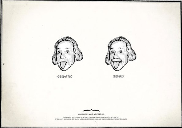 Movember : Einstein