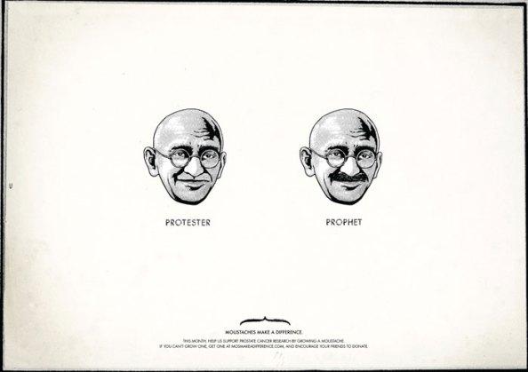 Movember : Gandhi