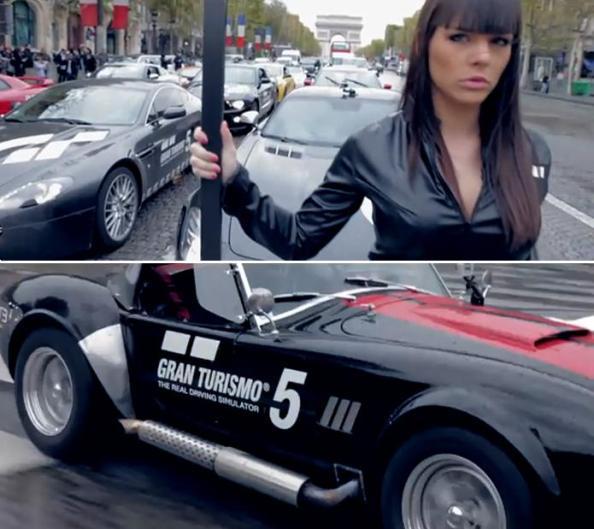 Gran Turismo 5 : Des filles et des jolies voitures pour ce lancement ambitieux
