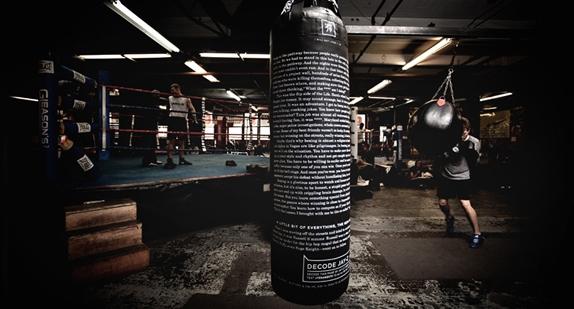 """Jay-Z """"Decoded"""": salle de boxe"""