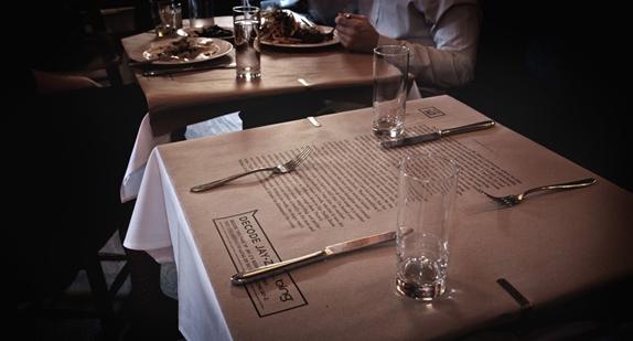 "Jay-Z ""Decoded"": salle de restaurant"