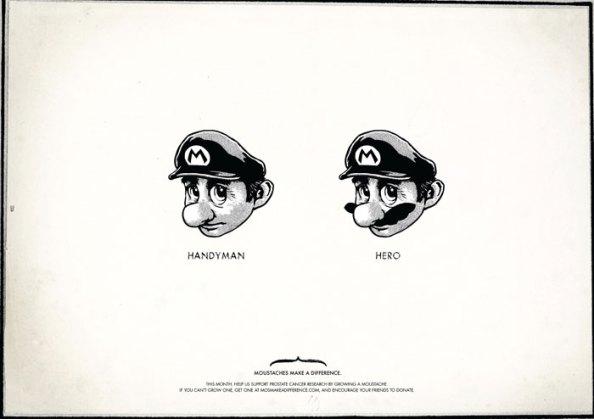Movember : Mario Bros