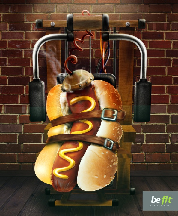 Be Fit: hot-dog