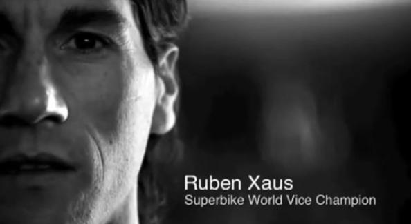 Ruben Xaus pour BMW Motorrad