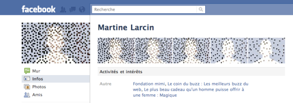 Fondation Mimi: profil facebook