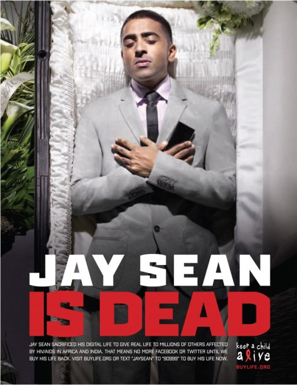 Jay Sean is (digitaly) dead
