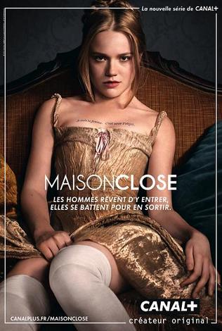 Canal+: Affiche de la série Maison Close