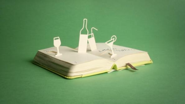 Moleskine: Animation paper art pour le célèbre agenda