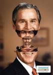 SonntagsZeitung : Poupée russe et Bush