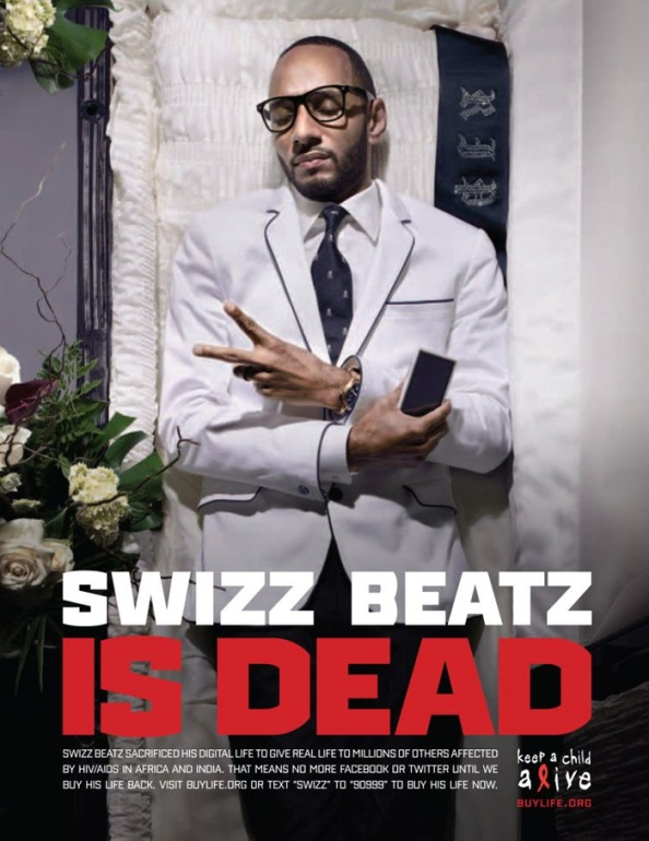 Swizz Beatz is (digitaly) dead