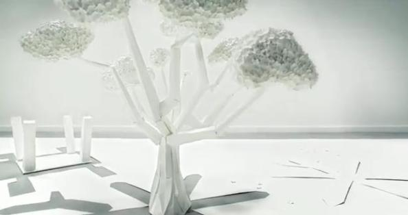 Toshiba : du stop motion pour de la 3D