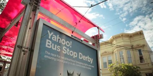 Yahoo! Attendre le bus autrement...